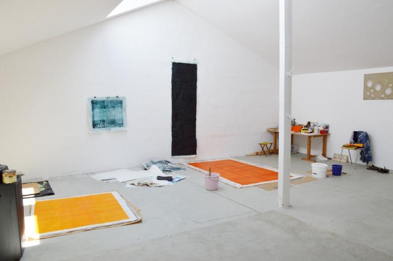 Atelieransicht Juni 2018