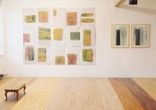 Installation Ausstellung offene Atelier Werkgelände München Ost 2017