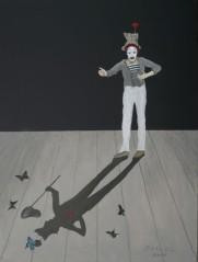 Marcel Marceau - Pantomime - als Bip und der Schmetterling